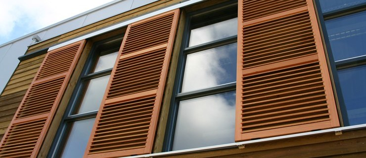 Exterior Shutters | J.M Wheeler Window Coverings