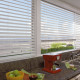"Faux blinds are perfect for high moisture areas.  Available in 2"" or 2 1/2"" slats"