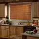 Faux blinds also come in stain finishes